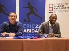 Conférence de presse avec Eric Abidal