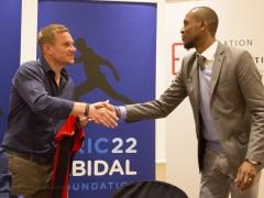 Conférence de presse , Eric Abidal